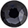 Swarovski Stones 2078 Xirius Roses Hf SS12 Graphite 1440 Pcs